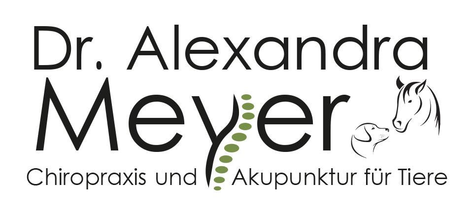 Logo Dr. Alexandra Meyer - Chiropraxis und Akupunktur für Pferde und Hunde